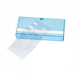 Hojas transparentes para archivar diapositivas